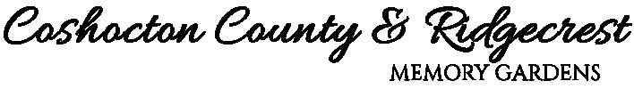 Ridgecrest & Coshocton County Memory Gardens Logo